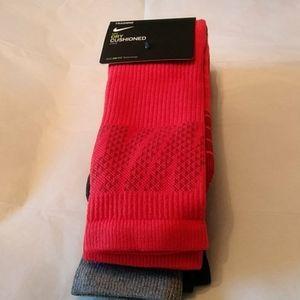 Nike Mens 3 pack Crew Socks Size 8-12 Large